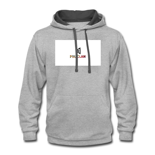New psu logo - Contrast Hoodie