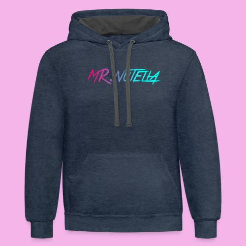 MR.nutella merch - Contrast Hoodie