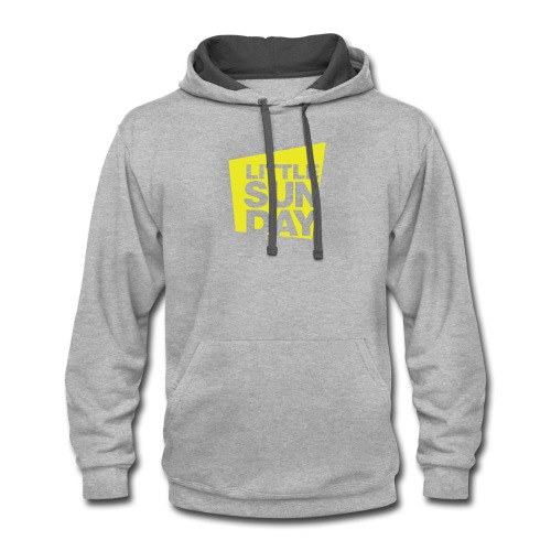 littleSUNDAY Official Logo - Contrast Hoodie