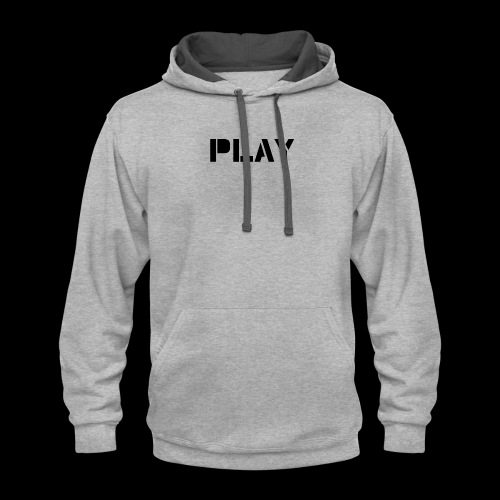 Play - Contrast Hoodie