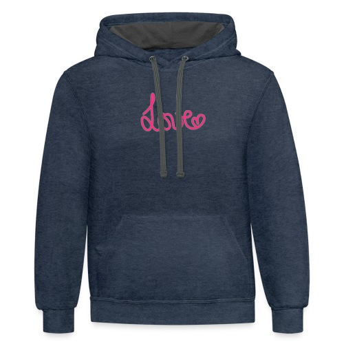LOVE Susi - Contrast Hoodie