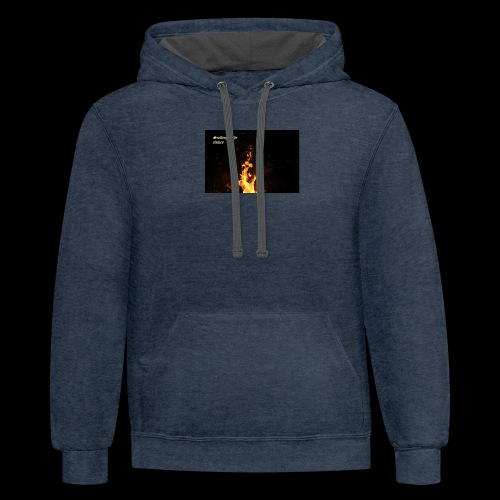 the flames - Contrast Hoodie