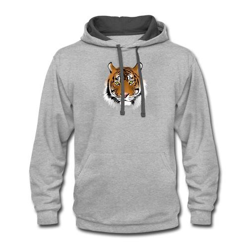 Tiger - Contrast Hoodie