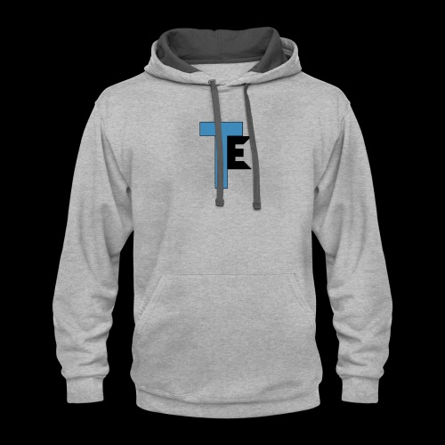 The Second Team Exelfiny Logo - Contrast Hoodie