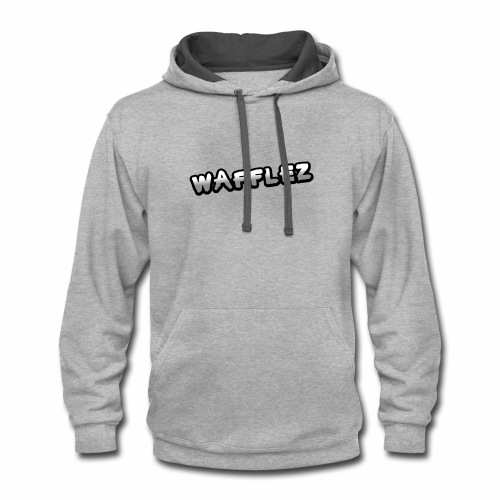 Official Wafflez Shirts - Contrast Hoodie