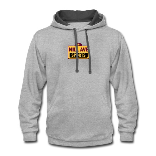 Mill Ave Sports Tee - Contrast Hoodie