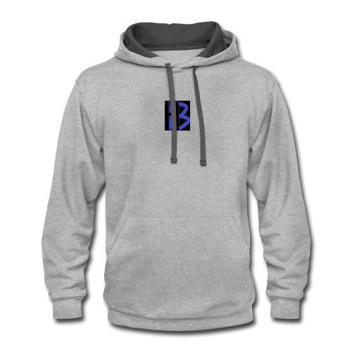 hb 2 - Contrast Hoodie