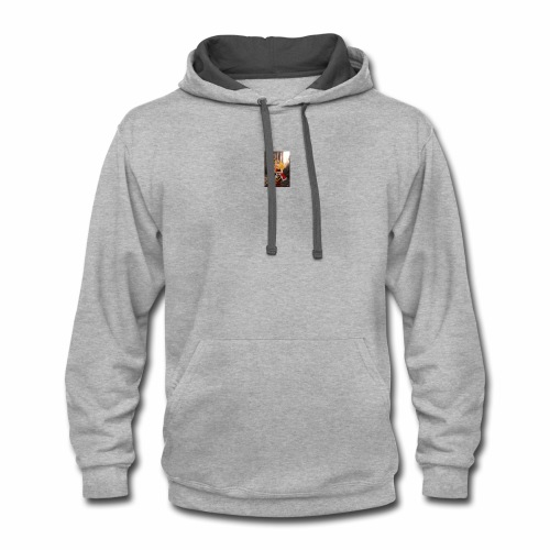 mad alice - Contrast Hoodie