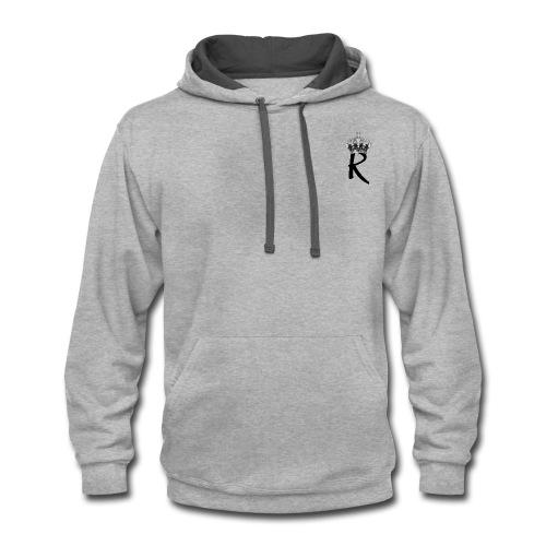 R with Crown - Contrast Hoodie