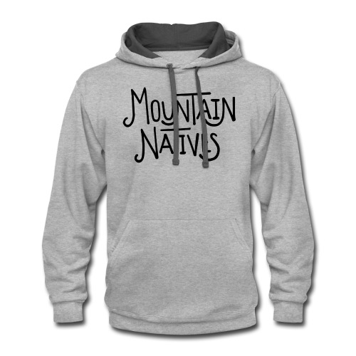 MOUNTAIN NATIVES - Contrast Hoodie