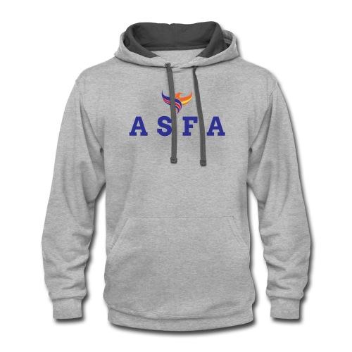 ASFA Logo - Contrast Hoodie
