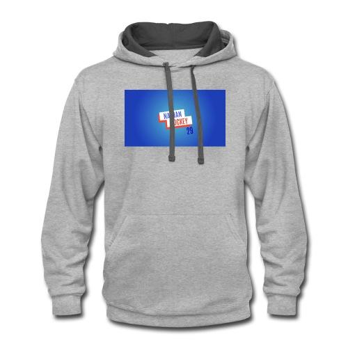 Nathan Hockey 29 - Contrast Hoodie