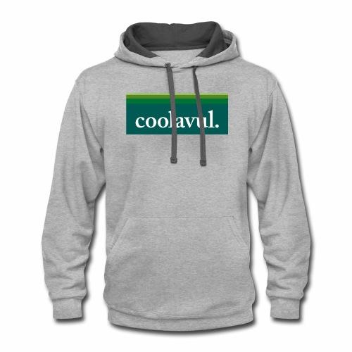 The original coolavul shirt. - Contrast Hoodie