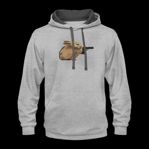 Nikers Bunny Killer2 - Contrast Hoodie