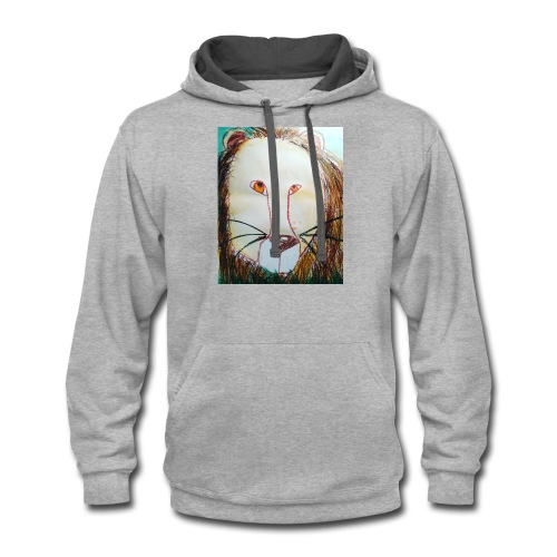 Lion in your life - Contrast Hoodie