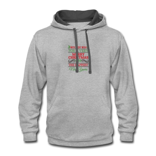 Christmas Design 20 New - Contrast Hoodie