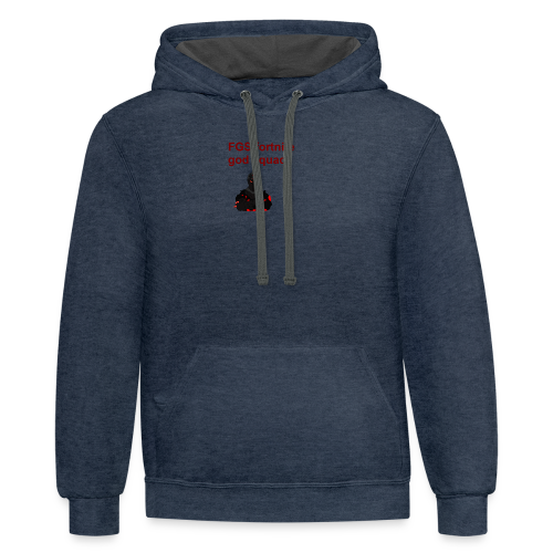 fgs new merch - Contrast Hoodie