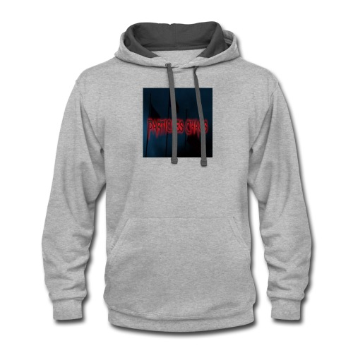 Particles chaos - Contrast Hoodie