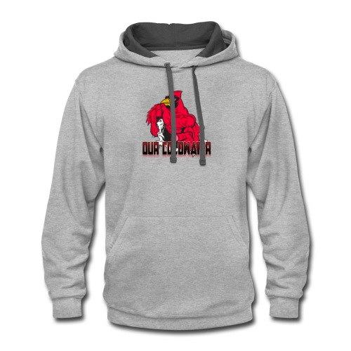 Our Coldwater Logo - Contrast Hoodie