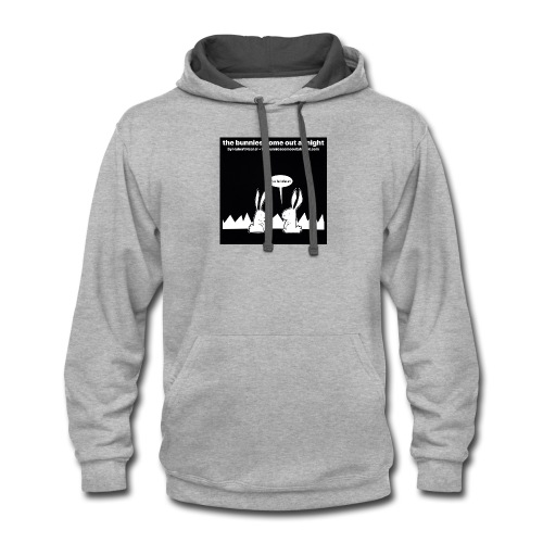 tbcoan Where the bitches at? - Contrast Hoodie