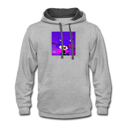 Erica sweatshirt - Contrast Hoodie