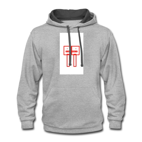 Attention Please - Contrast Hoodie