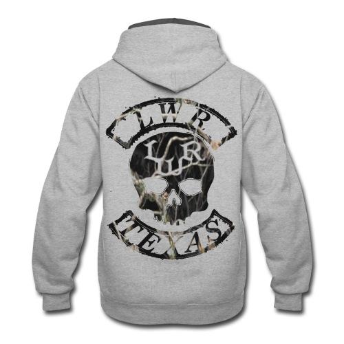 LWR Black Camo Rockers - Contrast Hoodie