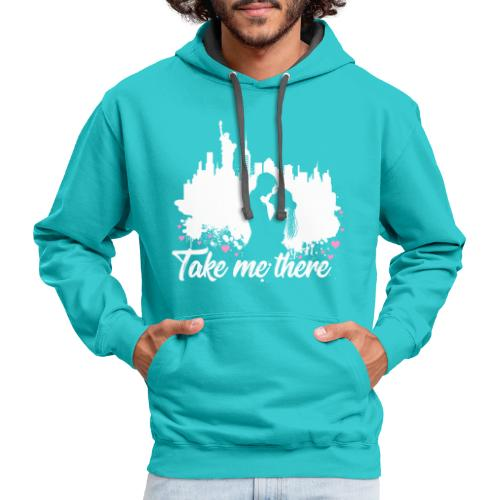 Take me to New York - Contrast Hoodie
