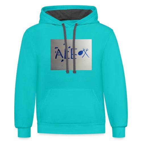 Alex kasulis - Contrast Hoodie