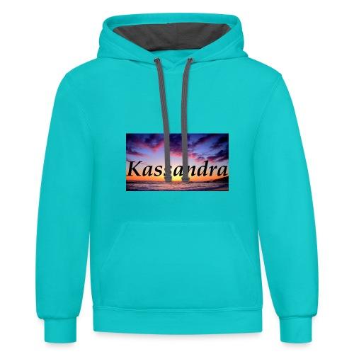 kassandra - Contrast Hoodie