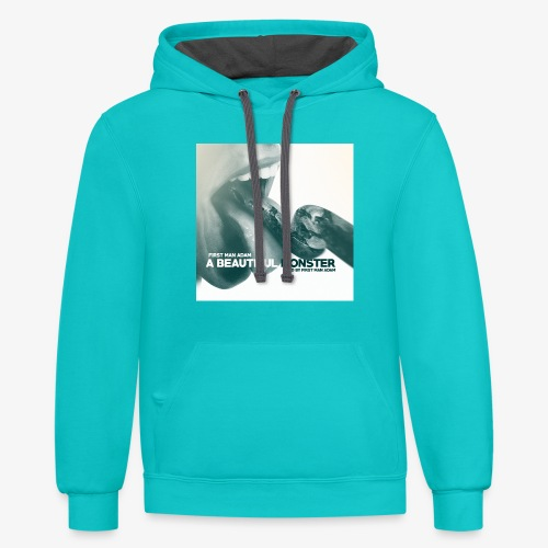 First Man ADAM A Beautiful Monster EP - Contrast Hoodie