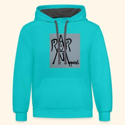 racks on racks apparel - Contrast Hoodie