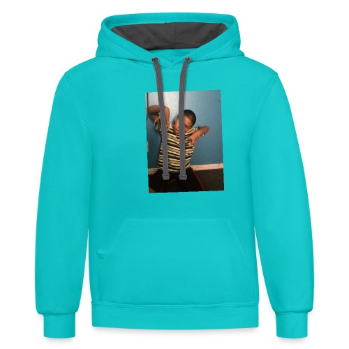 TheGamer1Goshop - Contrast Hoodie