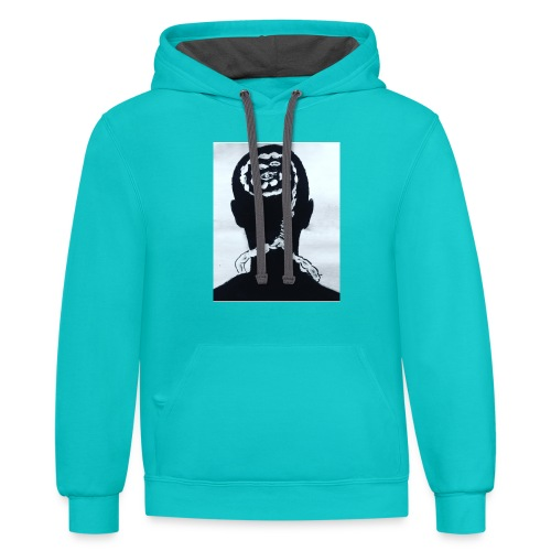 Abstract - Contrast Hoodie