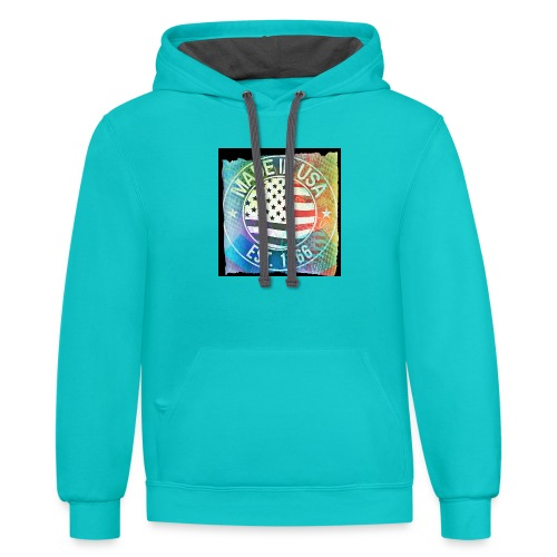 Made in U.S.A - Contrast Hoodie