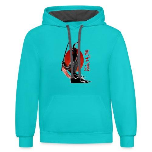Redmoon Ronin - Contrast Hoodie