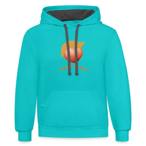 Impeach The President - Contrast Hoodie