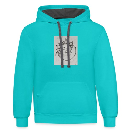 Always kiss me goodnight - Contrast Hoodie