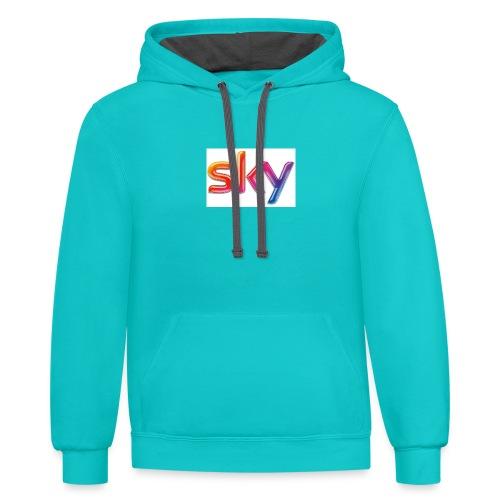 Sky Merch - Contrast Hoodie