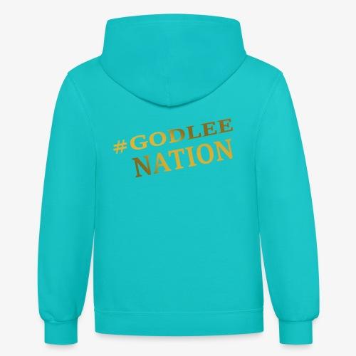 GodLee Nation - Contrast Hoodie
