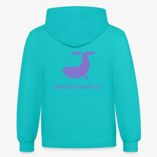 Anchorbeach.co - Contrast Hoodie