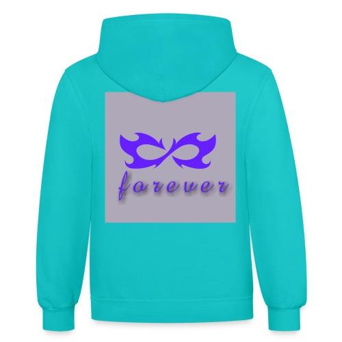 LogoMaker 13092018 110029 - Contrast Hoodie
