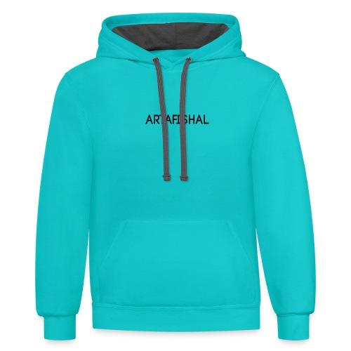 Artafishal - Contrast Hoodie