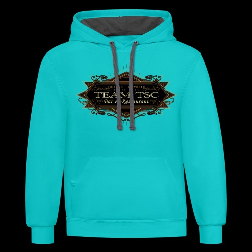 teamTSC badge03 Bar - Contrast Hoodie