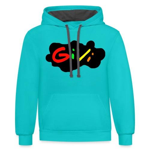 GiVi - Unisex Contrast Hoodie