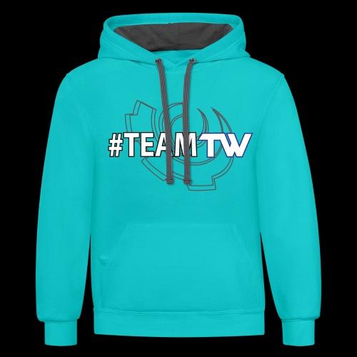 TeamTW - Unisex Contrast Hoodie