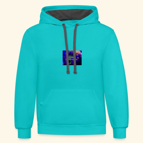 Torn Apparell Chris Edition - Unisex Contrast Hoodie
