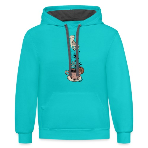Witch s Brew - Unisex Contrast Hoodie