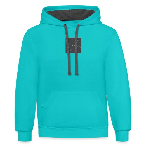 Activ Clothing - Unisex Contrast Hoodie