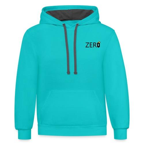 ZERO - Unisex Contrast Hoodie